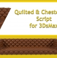 3DS MAX沙发生成插件 Quilted & Chesterfield For 3DS Max 2013-2021