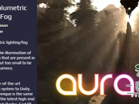 Unity体积光雾照明系统Aura 2 – Volumetric Lighting & Fog 2.1.13