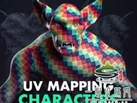 Maya角色展UV教程 FlippedNormals – UV Mapping Characters with Henning and Morten